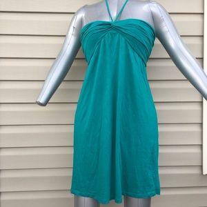 Green Maternity Beach Coverup Dress - Size Small.